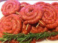 Salsicce all'aceto
