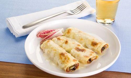 Ricetta Cannelloni radicchio e formaggio