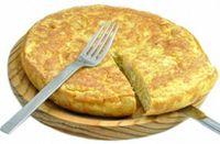 Frittata con patate e formaggio