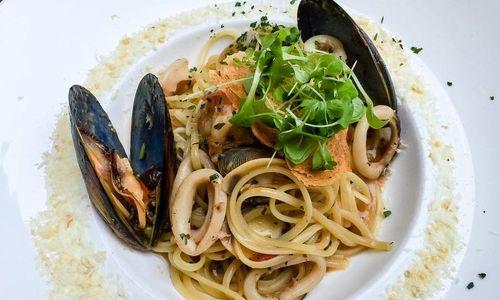 Ricetta Tagliolini con calamaretti